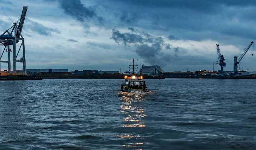 inquinamento navi e sostenibilità porto di Amburgo